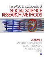 The SAGE Encyclopedia of Social Science Research Methods PDF