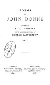 Poems of John Donne: Volume 2