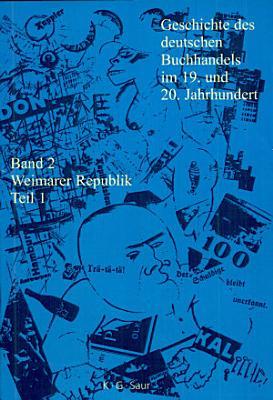 Geschichte des deutschen Buchhandels im 19  und 20  Jahrhundert PDF