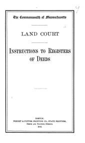 Instructions to Registers of Deeds