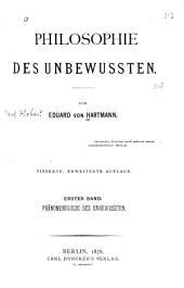 Philosophie des Unbewussten: Bände 1-2
