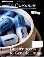 Greater access to generic drugs PDF