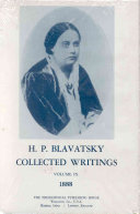 Collected Writings of H. P. Blavatsky, Vol. 9