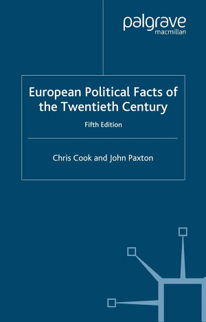 European Political Facts of the Twentieth Century