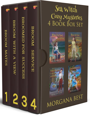 Sea Witch Cozy Mysteries  4 Book Box Set