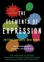 The Elements of Expression PDF