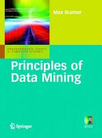 Principles of Data Mining PDF