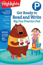 Preschool Get Ready To Read And Write Big Fun Practice Pad Book PDF