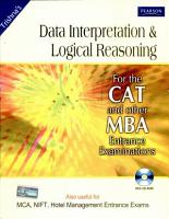 Data Interpretation and Logical Reasoning for the CAT PDF