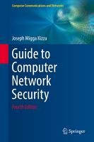 Guide to Computer Network Security PDF