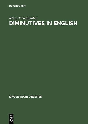 Diminutives in English