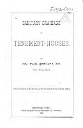 Sanitary Drainage of Tenement-houses