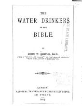 The Water Drinkers of the Bible