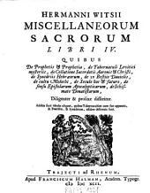 Miscellaneorum sacrorum libri IV