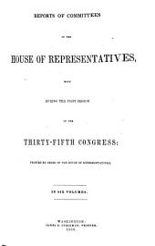 House Documents: Volume 6; Volume 112