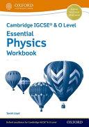 CAIE ESS IGCSE PHYS WBK 3E PDF