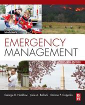 Introduction to Emergency Management: Edition 6