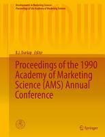 Proceedings of the 1990 Academy of Marketing Science  AMS  Annual Conference PDF