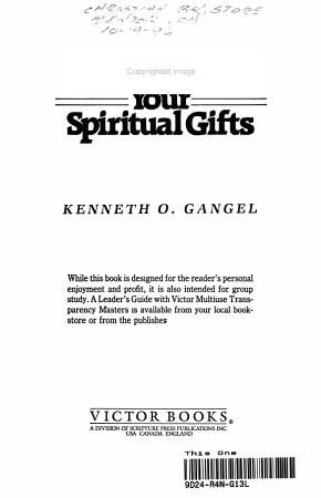 Unwrap Your Spiritual Gifts PDF