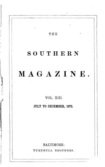 The Southern Magazine PDF