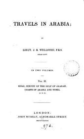 Travels in Arabia: Volume 2