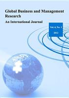 Global Business and Management Research  An International Journal Vol  4  No  1 PDF