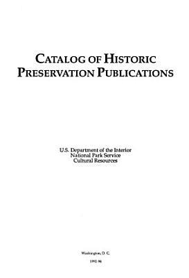 Catalog of Historic Preservation Publications