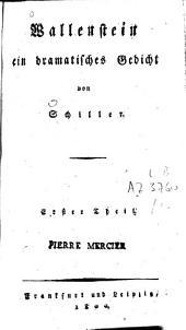Wallenstein: Ein dramat. Gedicht, Teil 2