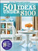 501 Decorating Ideas Under  100 PDF