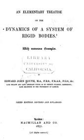 An Elementary Treatise on the Dynamics of a System of Rigid Bodies