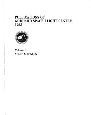 Publications of Goddard Space Flight Center PDF