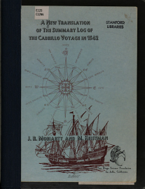 A New Translation Of The Summary Log Of The Cabrillo Voyage In 1542