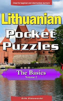 Lithuanian Pocket Puzzles Book