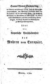 Über die körperliche Verschiedenheit des Mohren vom Europäer