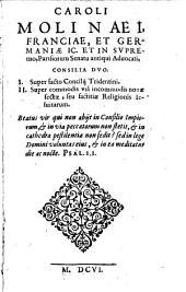 Consilia duo super facto consilii Tridentini