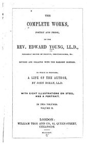 Imperium Pelagi, a naval lyric. Epistles to Mr. Pope, concerning the authors of the age. Sea-piece. The foreign address; or the best argument for peace. Epitaph on Lord Aubrey Beauclerk. Reflections on the public situation of the kingdom. An epistle to the right hon. Sir Robert Walpole. The old man's relapse. Resignation. Tragedies. Prose works