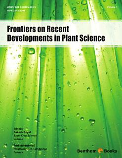 Frontiers on Recent Developments in Plant Science Book