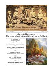 NBS#14: Srimad Bhagavatam, The Postgraduate study of the science of Godhead