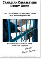 Canadian Corrections Officer Test Study Guide and Practice Test Questions PDF
