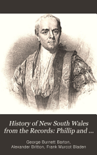 History of New South Wales from the Records  Phillip and Grose  1789 1794 PDF