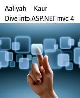 Dive into ASP NET mvc 4 PDF