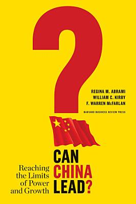 Can China Lead  PDF