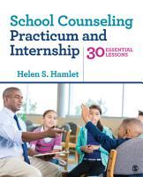 School Counseling Practicum and Internship PDF