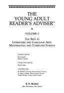 The Young Adult Reader S Adviser  The Best In Literature And Language Arts  Mathematics And Computer Science
