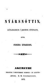 Nýársnóttin: sjónarleikur í þremur sýningum