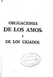Obligaciones de los amos i de los criados