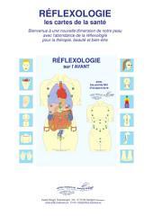 RÉFLEXOLOGIE sur l'AVANT avec les points MU d'acupuncture: Réflexologie - les cartes de la santé