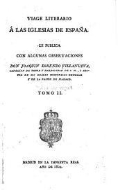 Viage literario á las iglesias de España: Volumen 2