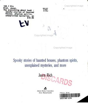 Everything Ghost Book PDF