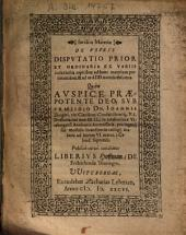 Iuridica Materiae De Usuris Disputatio Prior Et Ordinaria ...